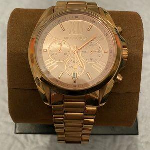 Michael Kors Rose Gold Quartz Watch